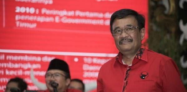 Djarot Saiful: Semakin Dikepung, Dukungan Masyarakat Surabaya Kepada Eri-Armuji Semakin Kuat