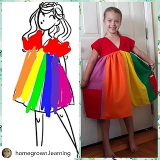 Daydream Believers Designs Turn Your Child's art into real clothing! Little Designer for Creative Kids