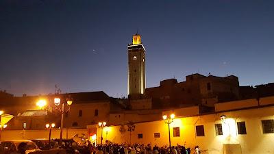 Moschea di sera