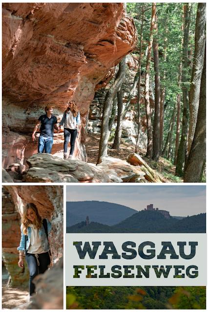 Wasgau-Felsenweg  Wandern Südliche Weinstraße  Naturpark Pfälzerwald 30