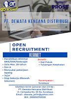 Open Recruitment at PT. Dewata Kencana Distribusi Surabaya September 2021