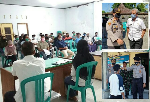 Polres Lotim Amankan Hearing di Desa Gelora Sesuai SOP dan Protokol Covid-19