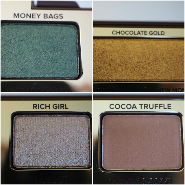 TOO FACED Chocolate Gold Eye Shadow Palette With Swatches