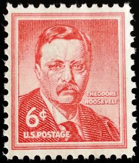 1955 6c Theodore Roosevelt