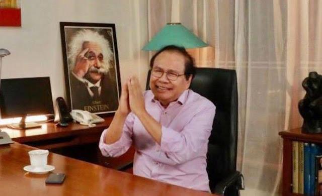 Rizal Ramli: Satu Tahun Saya Jadi Presiden, Krisis Beres!