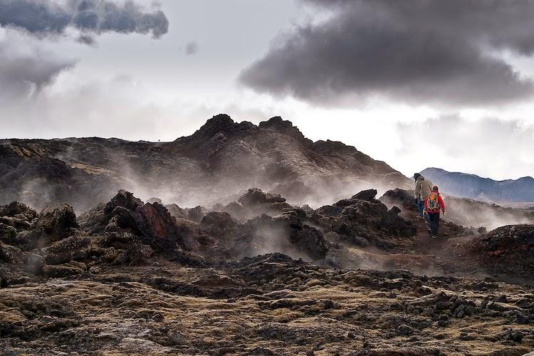 La Caldeira Krafla - Islande