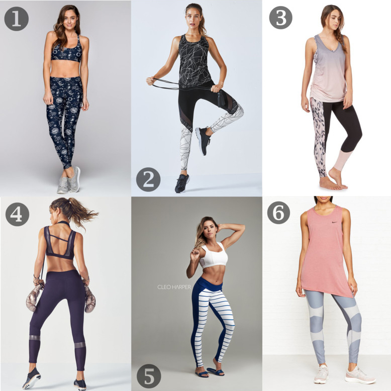My Fitness Wishlist: Stylish Workout Clothes