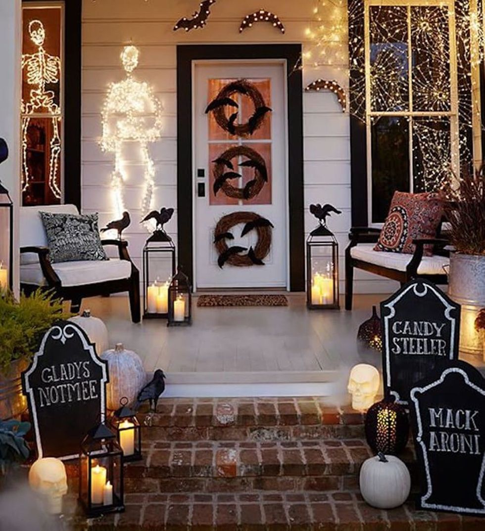 halloween porch decorations ideas