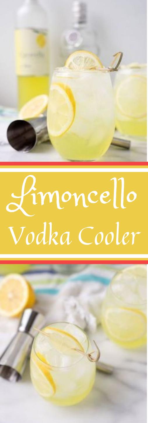 LIMONCELLO VODKA COOLER #healthydrink #vodka