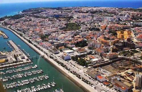 vista aérea de Lagos – Portugal