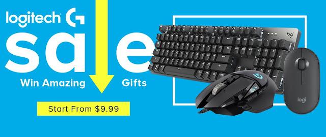 Logitech Sale - Boa promoção na Geekbuying