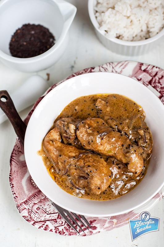 Goańskie curry z kurczaka