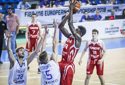 FIBA U16 Europe | Türkiye Avrupa beşincisi