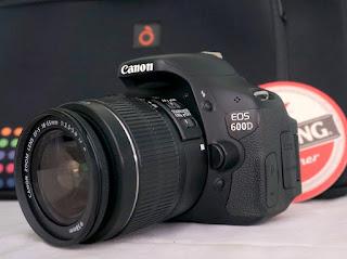 Jual Canon EOS 600D   ( Kamera DSLR Bekas )