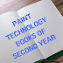 PAINT TECHNOLOGY BOOKS  OF SECOND YEAR  IN PDF