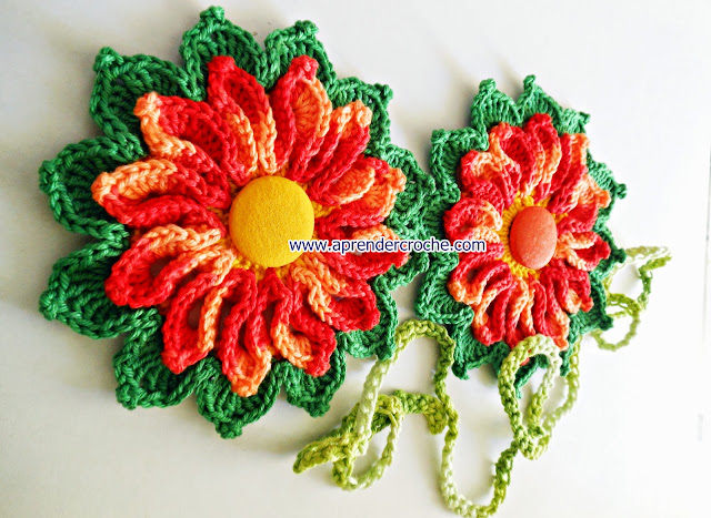 aprender crochê natal flores tapetes americanos papai noel arvores guirlandas estrelas corações edinir-croche curso de croche passo-a-passo iniciantes