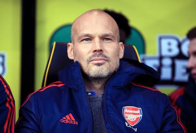 Freddie Ljungberg Jadi Salah Satu Staf Mikel Arteta di Arsenal