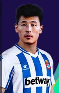 PES 2021 Faces Wu Lei
