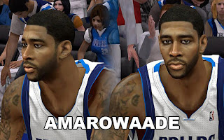 NBA 2K13 O.J. Mayo Cyber Face Patch