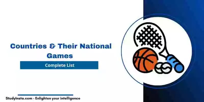 List of Countries & Their National Games [PDF Download]