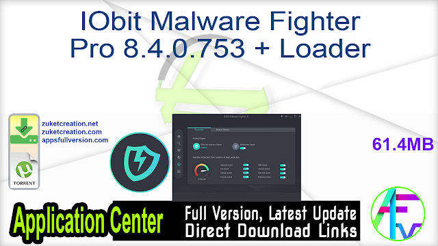 IObit Malware Fighter Pro 8.4.0.753 + Loader