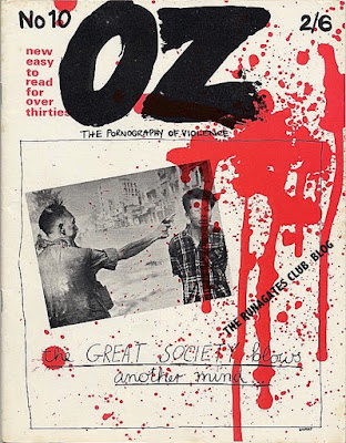 OZ magazine, No. 10 - The Pornography of Violence