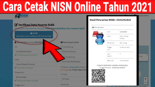 Cara Mengecek dan Mencetak NISN Secara Online Tahun 2021