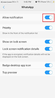 Cara Membaca Pesan Whatsapp tanpa diketahui pengirim - notif 3