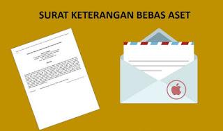 Contoh Surat Keterangan Bebas Aset