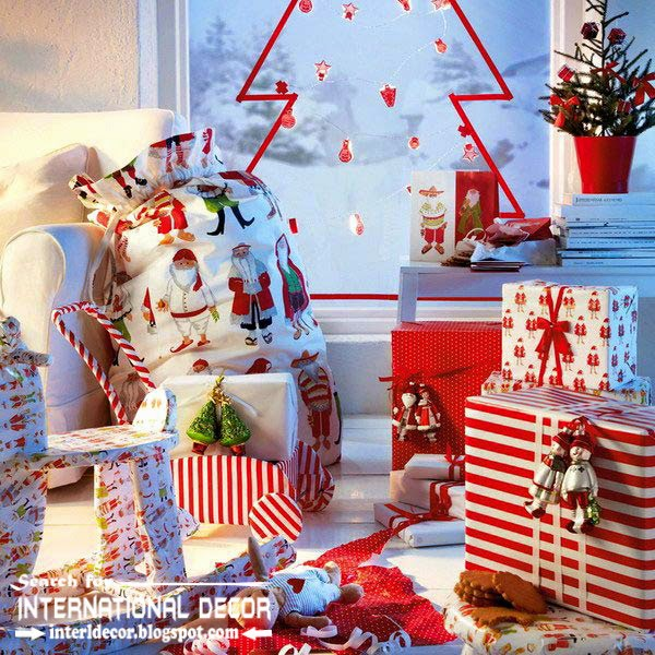 New Ikea Christmas decorations 2015, new year gift decorating ideas from ikea