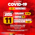 Jaguarari não registrou nenhum novo caso de coronavírus no Boletim desta terça-feira (02)