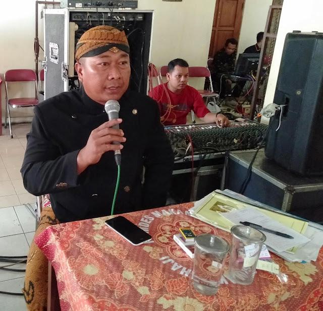 Babinsa Wonosari Miliki Keahlian Jadi MC Pernikahan