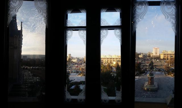 מבט מארמון התרבות לכיווןשדרותStefan cel Mare