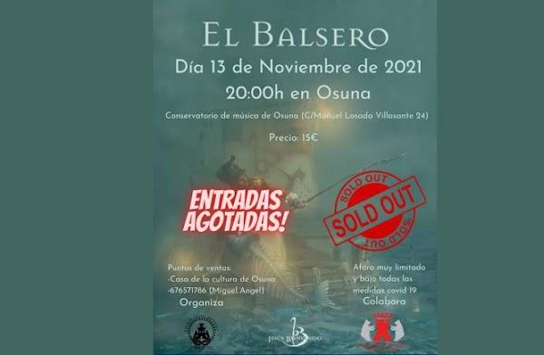 'El Balsero' de Jesús Bienvenido llega a Osuna en noviembre