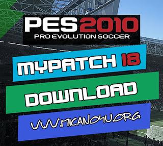 PES 2010 MyPatch 18 Season 2017/2018