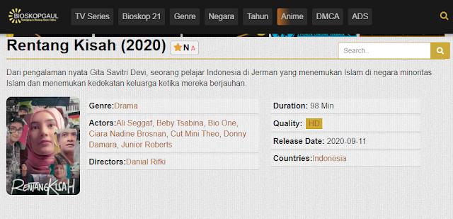 Nonton Film Rentang Kisah (2020) Lengkap Link Terbaru 2021