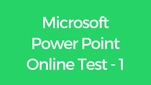 CCC Microsoft Power Point Online Test