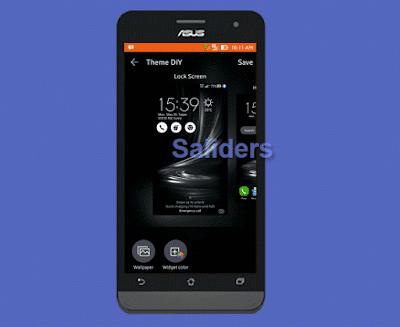 saliders, Beginilah cara termudah membuat tema smartphone sendiri tanpa pc, cara membuat tema nadroid langsung pada smartphone, cara membuat theme menggunakan hape