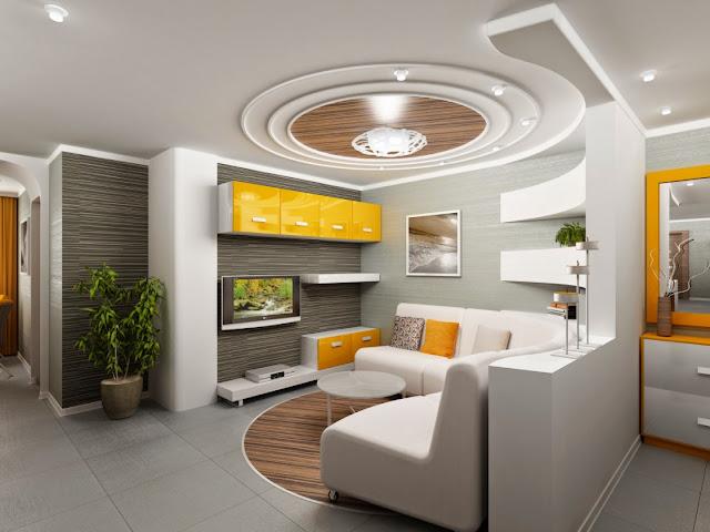 low ceiling living room design ideas