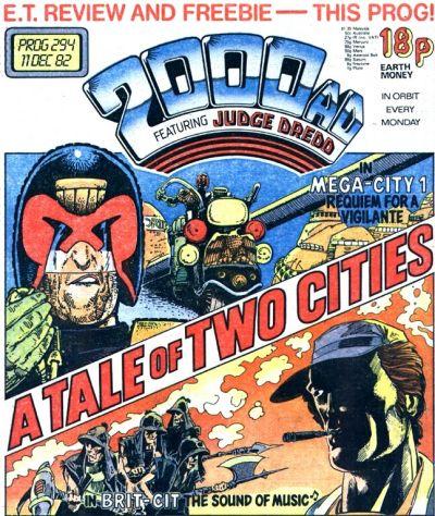 2000 AD Prog 294, Judge Dredd