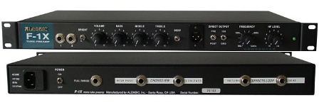 Rex And The Bass Alembic F 1x Bass And Keyboard Preamplifier Review