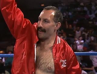 WCW Capital Combat 1990 - Paul Ellering faced Teddy Long in a Hair vs. Hair match