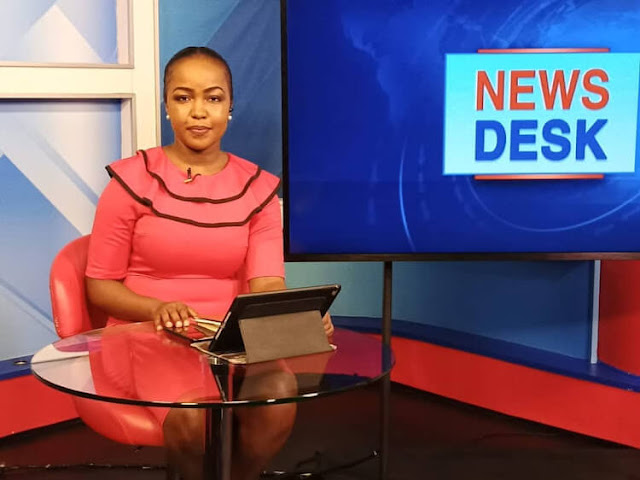 KTN news anchor Grace Kuria photos