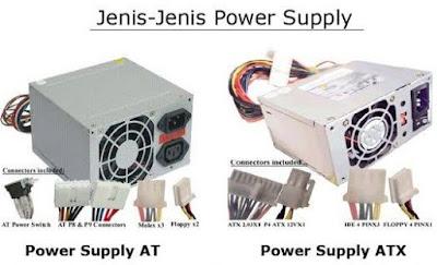 Perbedaan Power Supply AT dan ATX Pada Komputer, power supply AT, power supply ATX, kegunaan power supply, cara kerja power supply, pengertian power supply