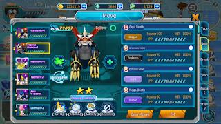 Wargreymon Imperialdramon Seraphimon OM TM