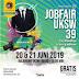 Gratis! JobFair UKSW 39 Tanggal 20 dan 21 Juni 2019 di Balairung Universitas Kristen Satya Wacana Salatiga