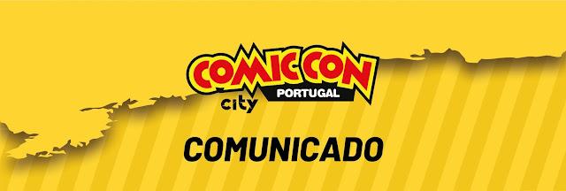 COMUNICADO COMIC CON PORTUGAL