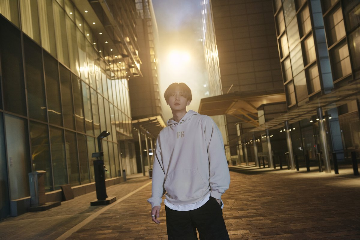 EXO's Chanyeol Poses in The Middle of The City in The SM STATION 'Tomorrow' Teaser