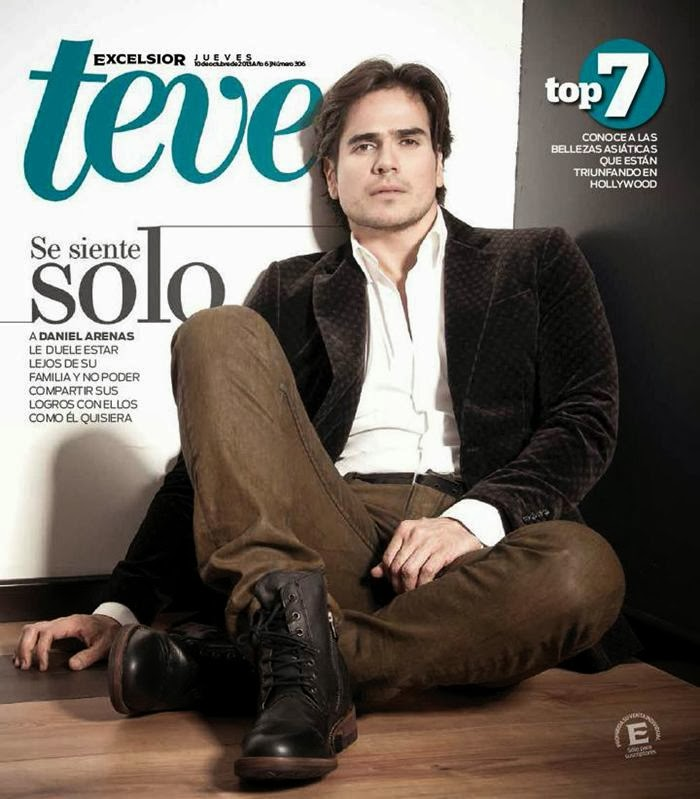 Daniel Arenas For Teve Magazine October 2013