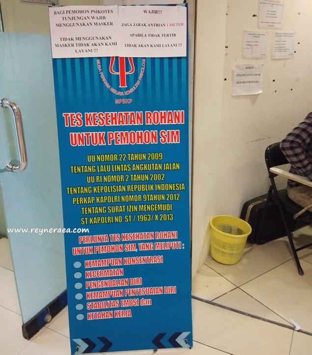 persyaratan dan biaya psikotest perpanjangan sim c di Surabaya